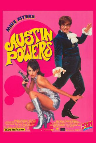 Austin Powers: International Man of Mystery - French Style Poster