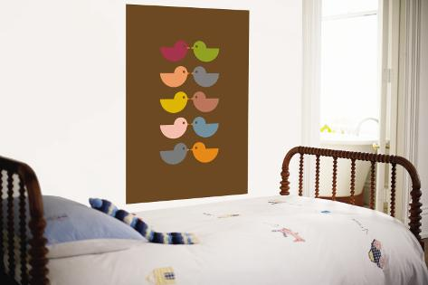 Brown Kiss Wall Mural
