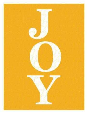 Orange Joy Art Print