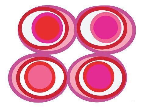 Pink View Art Print