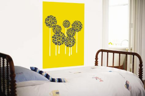 Yellow Allium Wall Mural
