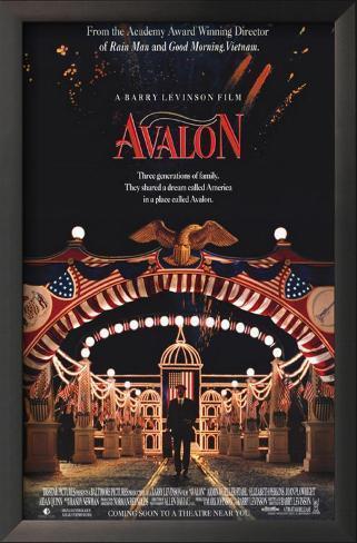 Avalon Impressão artística emoldurada