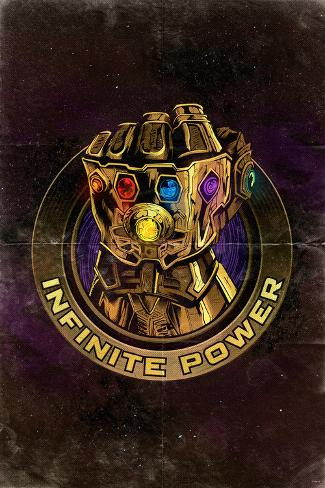 Avengers: Infinity War - Gauntlet (Nostalgic) Art Print
