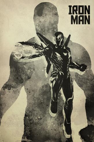 Avengers: Infinity War - Iron Man Stampa artistica