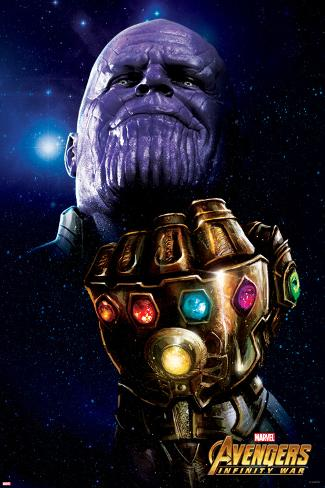 Avengers: Infinity War - Thanos Fist Poster