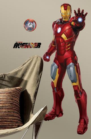 Avengers - Iron Man Peel & Stick Giant Wall Decal Wall Decal