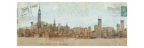 Cities III Premium Giclee Print