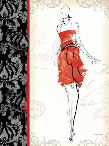 French Couture III Art Print