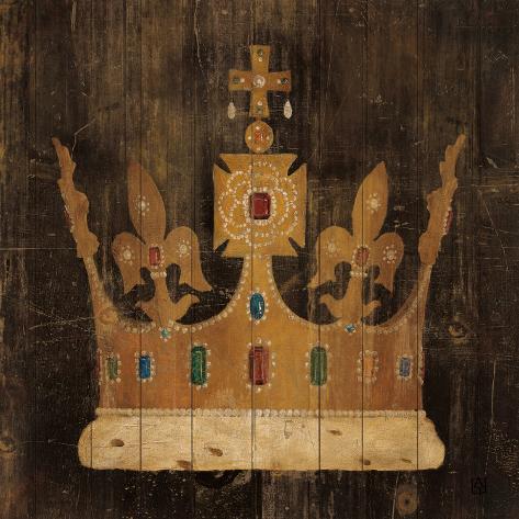 Her Majesty's Crown Art Print