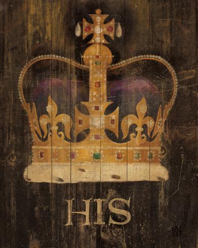 His Majesty's Crown Art Print