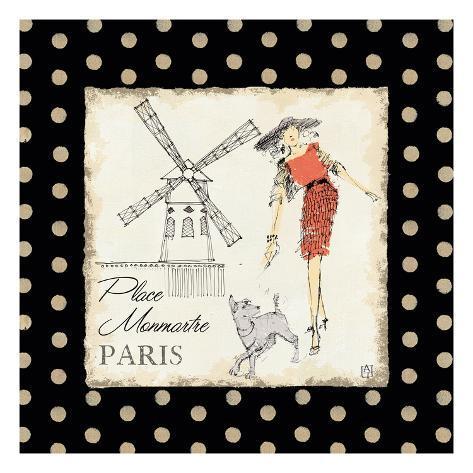 Ladies in Paris III Art Print