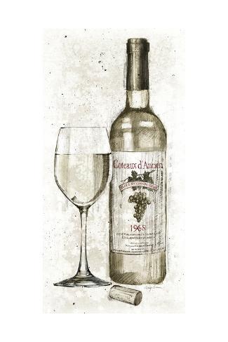 Pencil Wine II Premium-giclée-vedos