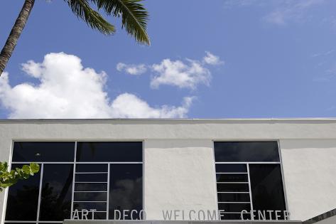 Art Deco Welcome Center Lummus Park Ocean Drive Miami South Beach District