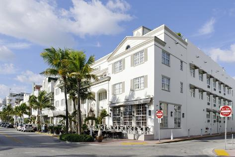 Luxury Hotel 'The Betsy Ross' in Art Deco Style, Ocean Drive, Art Deco District Photographic Print