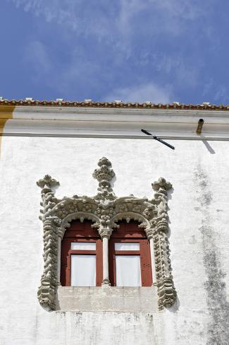 Palacio Nacional, Facade, Detail, Sintra, Unesco-World Cultural Heritage, Lisbon, Portugal Photographic Print