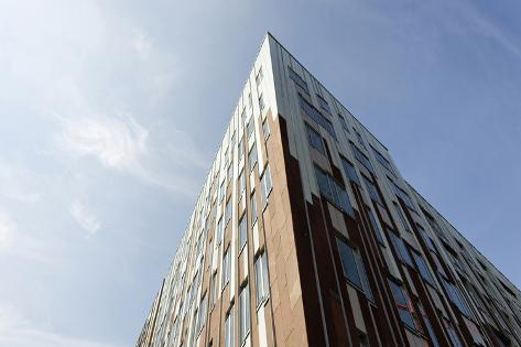 Sumatrakontor, Office Building and Residential Building, †berseequartier Photographic Print