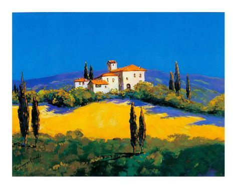 Summer in Provence IV Art Print