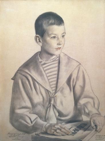 Portrait of Dmitri Dmitrievich Shostakovich Giclee Print
