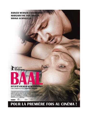 Baal, French Poster, Rainer Werner Fassbinder, Margarethe Von Trotta, 1970 Giclee Print