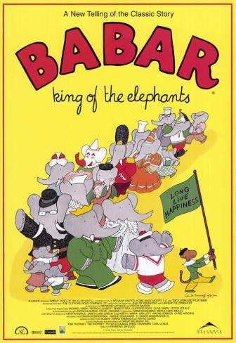 Babar: King of the Elephants Poster