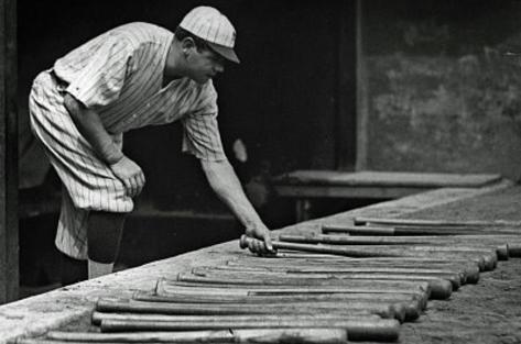 Babe Ruth Bats Archival Photo Poster Print Masterprint