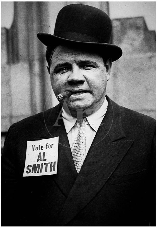 Ruth Campaigning For Al Smith Archival Photo Sports Poster Print Prints At Allposters