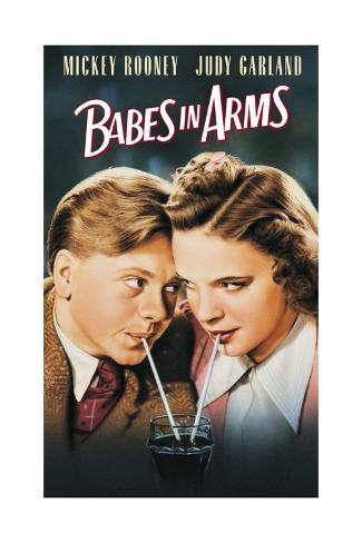 Babes in Arms - Movie Poster Reproduction Premium Giclee Print