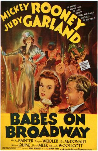 Babes on Broadway Masterprint