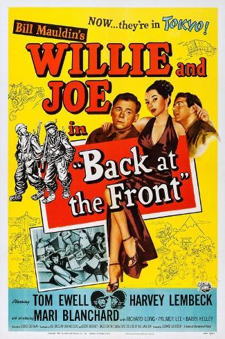 Back at the Front Art Print