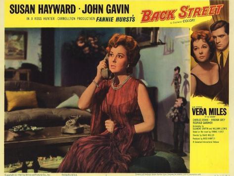 Back Street, 1961 Konstprint
