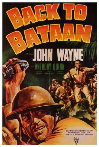 Back To Bataan Poster