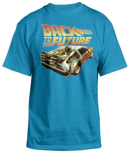 Back To The Future - BTF Delorean Camiseta
