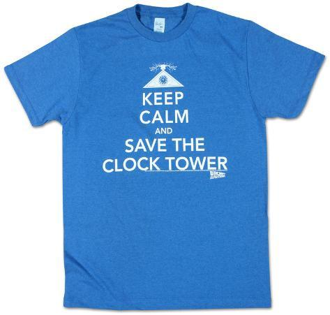 Back To The Future - Calmness Camiseta