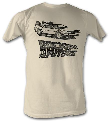 Back To The Future - Dmc Ink T-Shirt