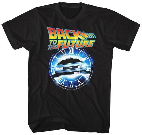 Back To The Future- Flying Through Time T-Shirt