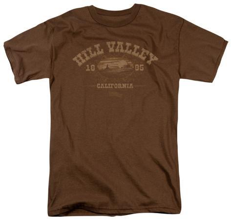 Back to the Future - Hill Valley 1855 Camiseta