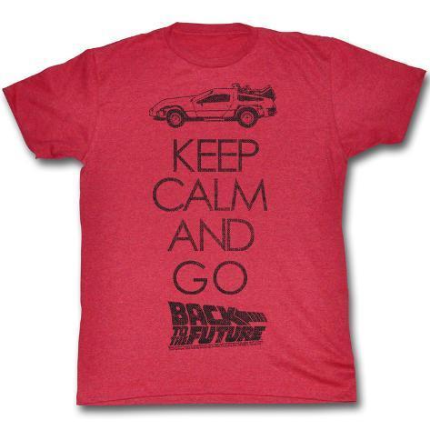 Back To The Future - Keep Calm T-Shirt