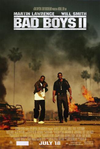 Bad Boys II Masterprint