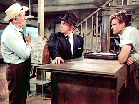 Bad Day At Black Rock, Walter Brennan, Spencer Tracy, John Ericson, 1955 Photo