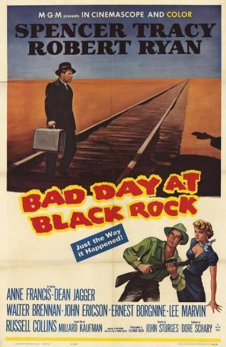Bad Day at Black Rock マスタープリント