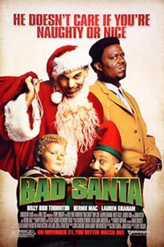 Bad Santa Original Poster