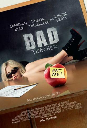 Bad Teacher マスタープリント