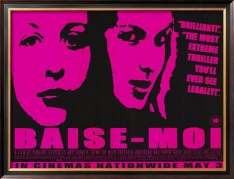 Baise-Moi 額入りポスター