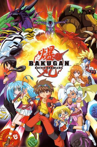 Bakugan Comp Poster