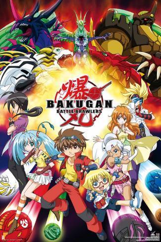 Bakugan - Manga Poster