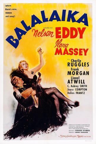 Balalaika, from Left: Nelson Eddy, Ilona Massey, 1939 Art Print