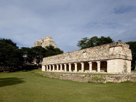 Mayan Ruins of Uxmal, UNESCO World Heritage Site, Yucatan, Mexico, North America Photographic Print