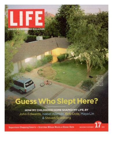 Filmmaker Steven Spielberg's Boyhood Home in Scottsdale, AZ, November 17, 2006 Photographic Print