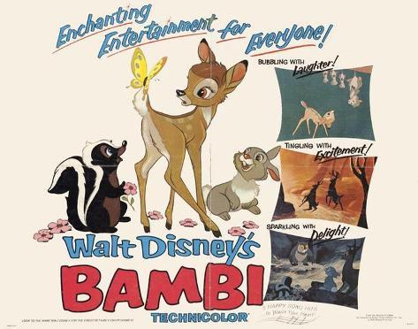 Bambi Pôster