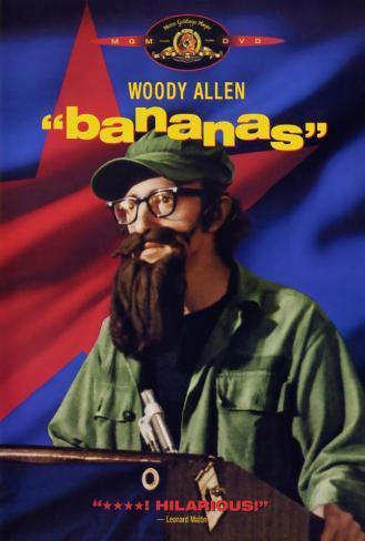 Bananas, 1971 Poster